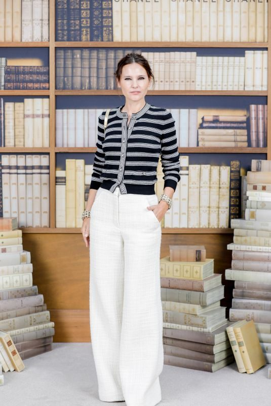 VIRGINIE LEDOYEN at Chanel Haute Couture Fall/Winter 2019/20 Show at Paris Fashion Week 07/02/2019