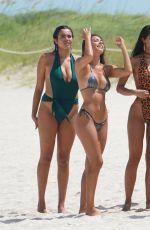 YOVANNA VENTURA in Bikini at a Beach in Miami 07/14/2019