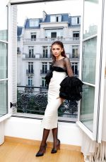 ZENDAYA COLEMAN at MIu Miu Show at Paris Fashion Week 07/02/2019