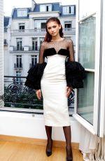 ZENDAYA COLEMAN at MIu Miu Show at Paris Fashion Week 07/02/2019