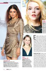 ZENDAYA, ELLE FANNING and FLORENCE PUGH in TV Media Magazine, July 2019