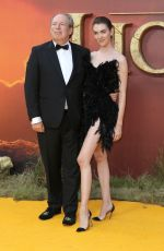 ZOE ZIMMER at The Lion King Premiere in London 07/14/2019