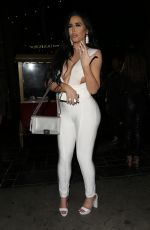 ABIGAIL RATCHFORD Night Out in Hollywood 08/20/2019