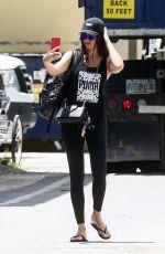 ADRIANA LIMA Leaves a Gym in Miami Beach 08/13/2019