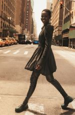 ADUT AKECH for H&M Fall/Winter 2019 Campaign Photoshoot in New York