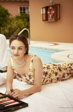 AISLING FRANCIOSI in Town & Country Magazine, September 2019