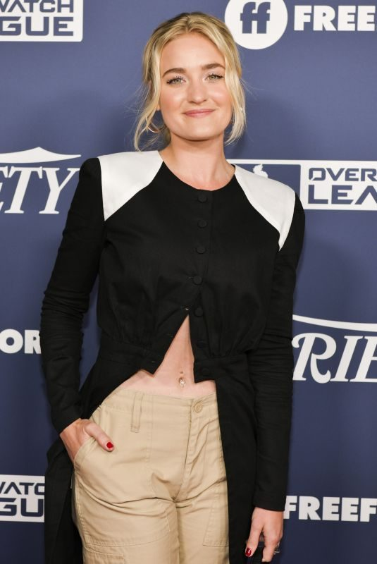 AJ MICHALKA at Variety's Power of Young Hollywood in Los Angeles 08/06/2019