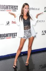 ALANA WALLACE at Frightfest at Cineworld Leicester Square in London 08/24/2019