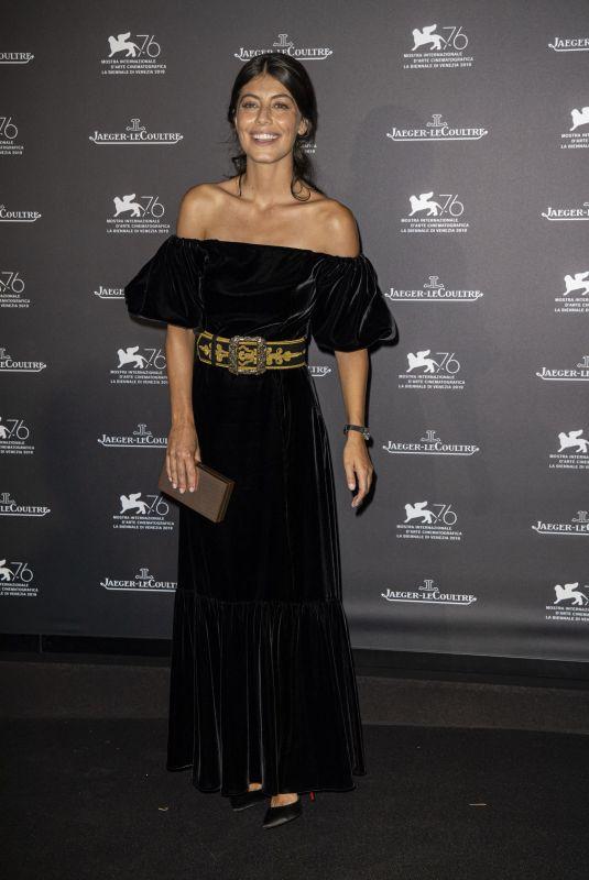 ALESSANDRA MASTRONARDI at Jaeger-Lecoultre Gala Dinner at Venice Film Festival 08/30/2019