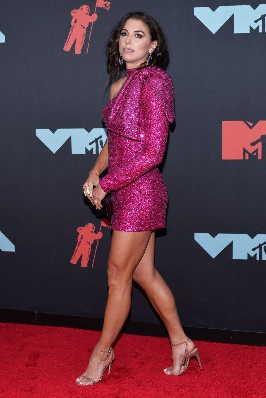 ALEX MORGAN at 2019 MTV Video Music Awards in Newark 08/26/2019