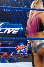 ALEXA BLISS at WW Smackdown in Memphis 07/30/2019