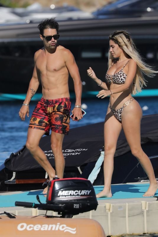 ALEXA DELLANOS in Bikini on Vacation in Mykonos 08/07/2019