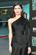 ALEXANDRA DADDARIO at Can You Keep A Secret? Premiere in Hollywood 08/28/2019