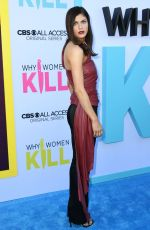 ALEXANDRA DADDARIO at Why Women Kill Premiere in Los Angeles 08/07/2019