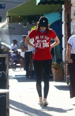 ALEXANDRA DADDARIO Out and About in Los Angeles 08/28/2019