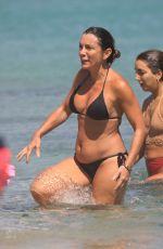 ALEXANDRA PASCALIDOU and GINA DIRAWI in Bikinis at a Beach in Mykonos 08/12/2019