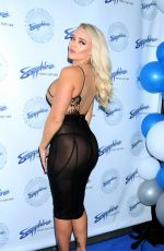 ALEXIS MONROE at Sapphire Times Square Club Opening in New York 08/15/2019