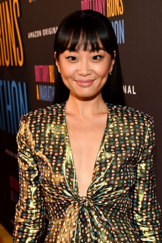 ALICE LEE at Brittany Runs A Marathon Premiere in Los Angeles 08/15/2019