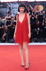 ALICE PAGANI at Joker Screening at 76th Venice Film Festival 08/31/2019