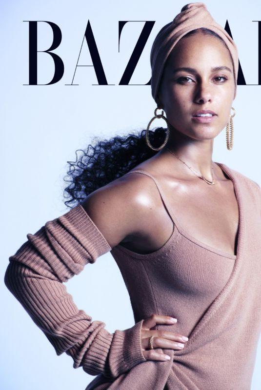 ALICIA KEYS in Harper's Bazaar Magazine, September 2019