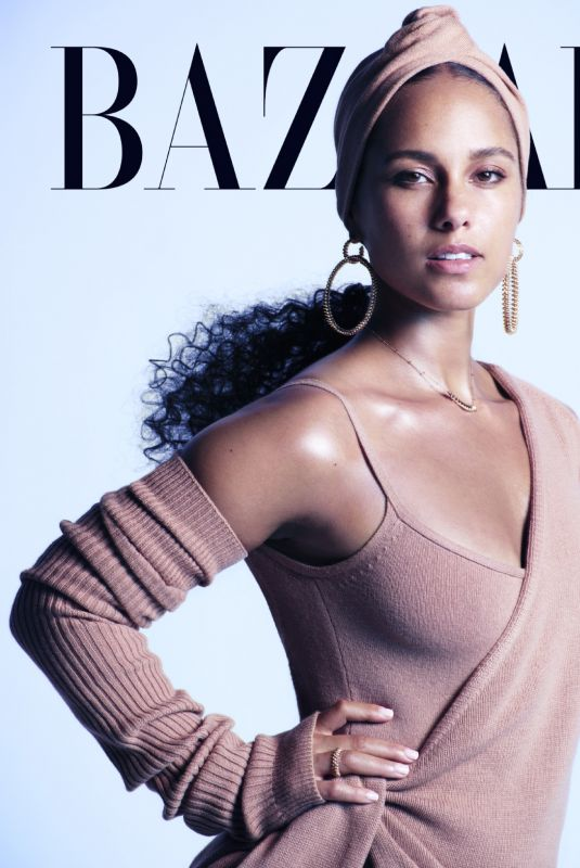 ALICIA KEYS in Harper