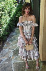 ALISON BRIE in Brock Collection Dress - Instagram Photos 08/07/2019