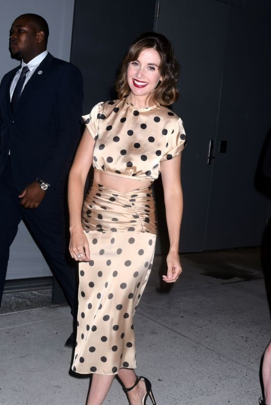 ALISON BRIE Night Out in New York 08/13/2019