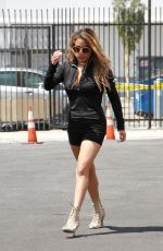 ALLY BROOKE Arrives at Dancing with the Stars Rehearsal in Hollywood 08/28/2019