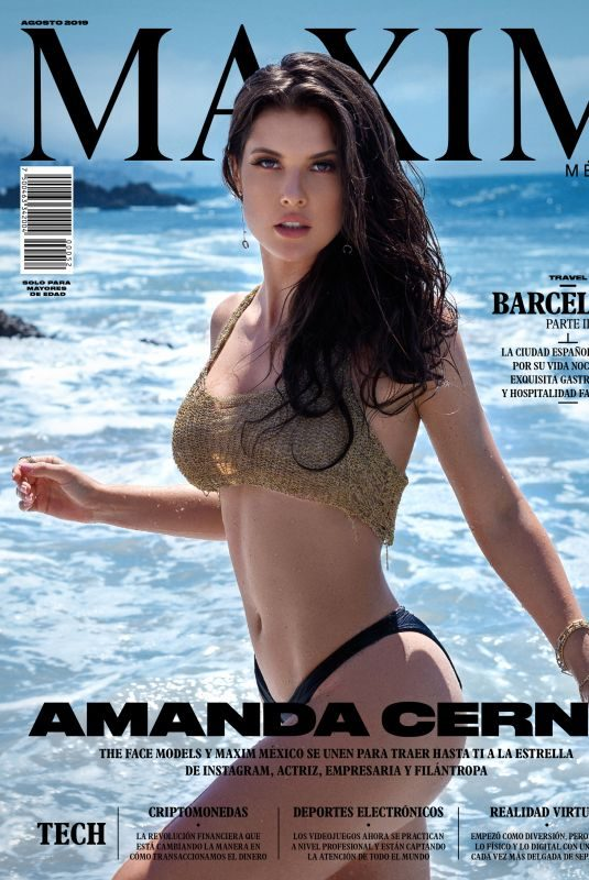AMANDA CERNY for Maxim Magazine, Mexico August 2019
