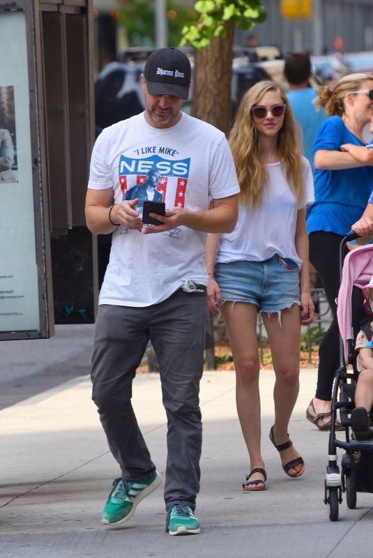 AMANDA SEYFRIED and Thomas Sadoski Out in New York 08/06/2019