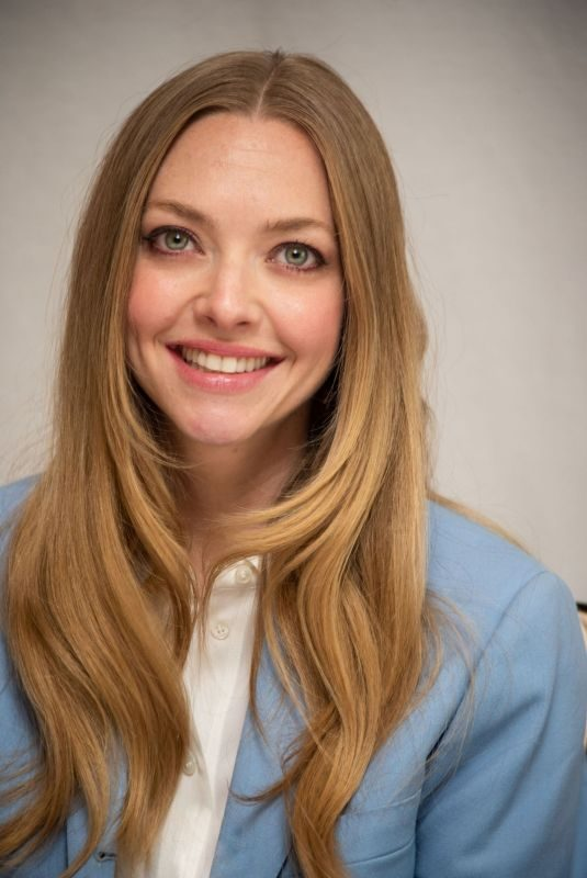 AMANDA SEYFRIED at The Art of Racing in the Rain Press Conference in Los Angeles, August 2019