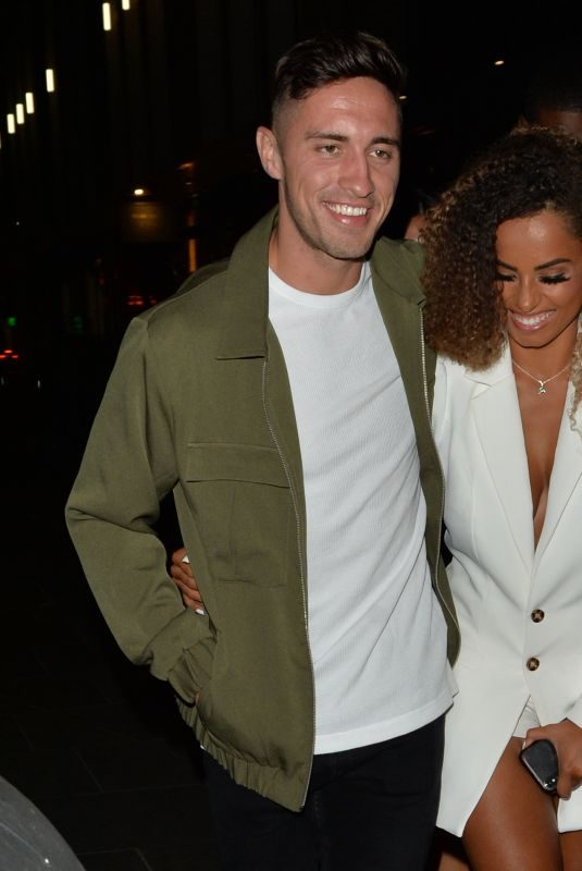 AMBER GILL Night Out in London 08/06/2019