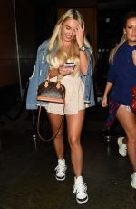 AMBER TURNER Leaves Zuma Restaurant in Knightsbridge 08/14/2019