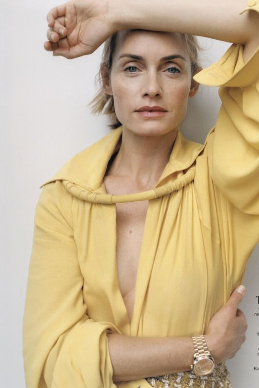 AMBER VALLETTA in Vogue Magazine, September 2019