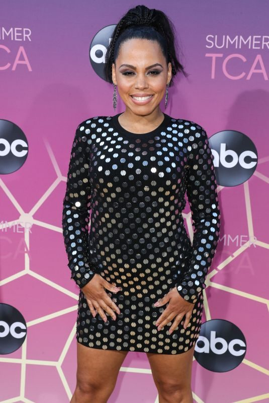 AMIRAH VANN at ABC's TCA Summer Press Tour in West Hollywood 08/05/2019