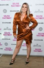 AMY CHRISTOPHERS at Selfie Factory Westfield Launch Party in London 07/31/2019