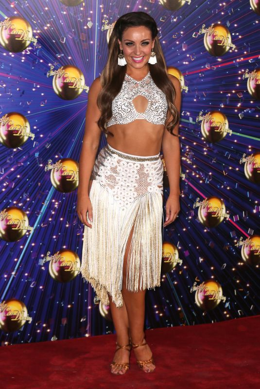 AMY DOWDEN at Strictly Come Dancing Launch in London 08/26/2019