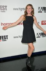 AMY GROENING at Frightfest at Cineworld Leicester Square in London 08/24/2019