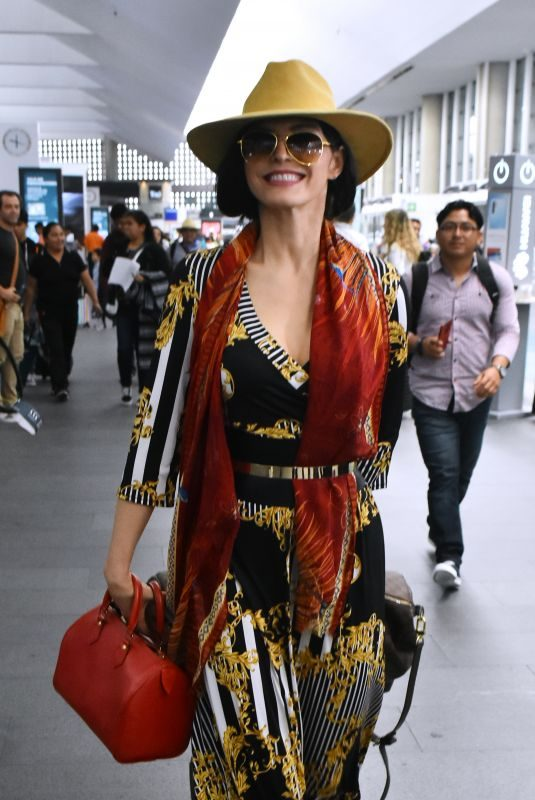 ANA BARBARA at Mexico City International Airport 08/01/2019