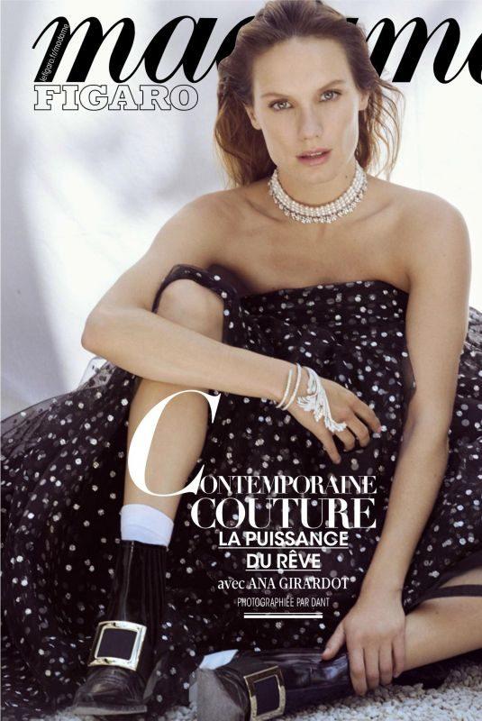 ANA GIRARDOT in Madame Figaro Magazine France August 2019