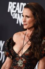 ANDIE MACDOWELL at Ready or Not Screening in Culver City 08/19/2019