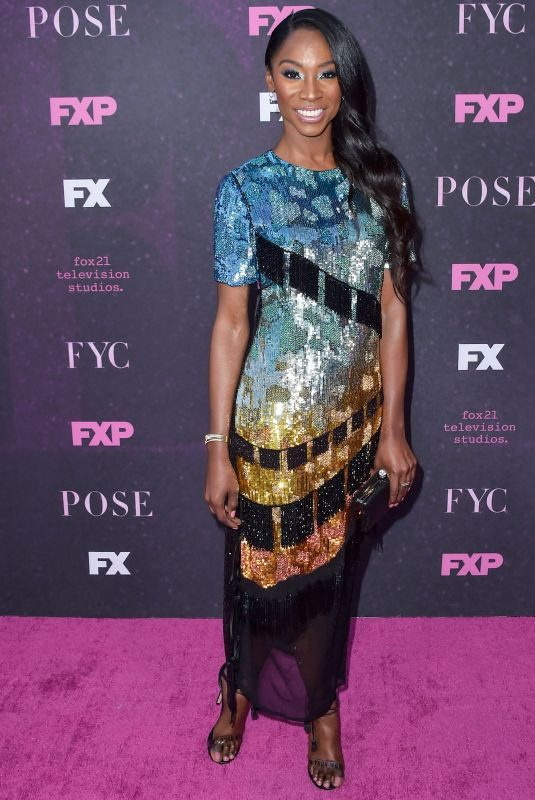 ANGELICA ROSS at Pose Premiere in Los Angeles 08/09/2019