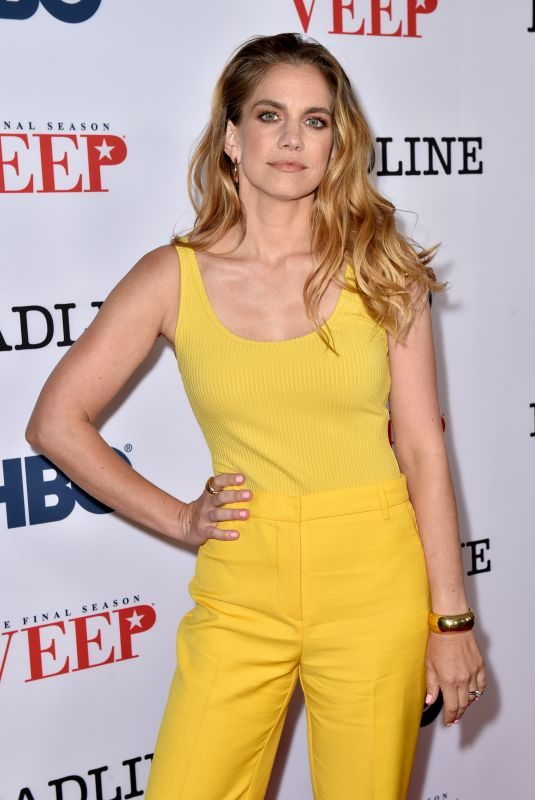 ANNA CHLUMSKY at Veep Show Screening in Los Angeles 08/20/2019