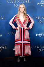 ANNA RUST at Carnival Row Screening in London 08/28/2019