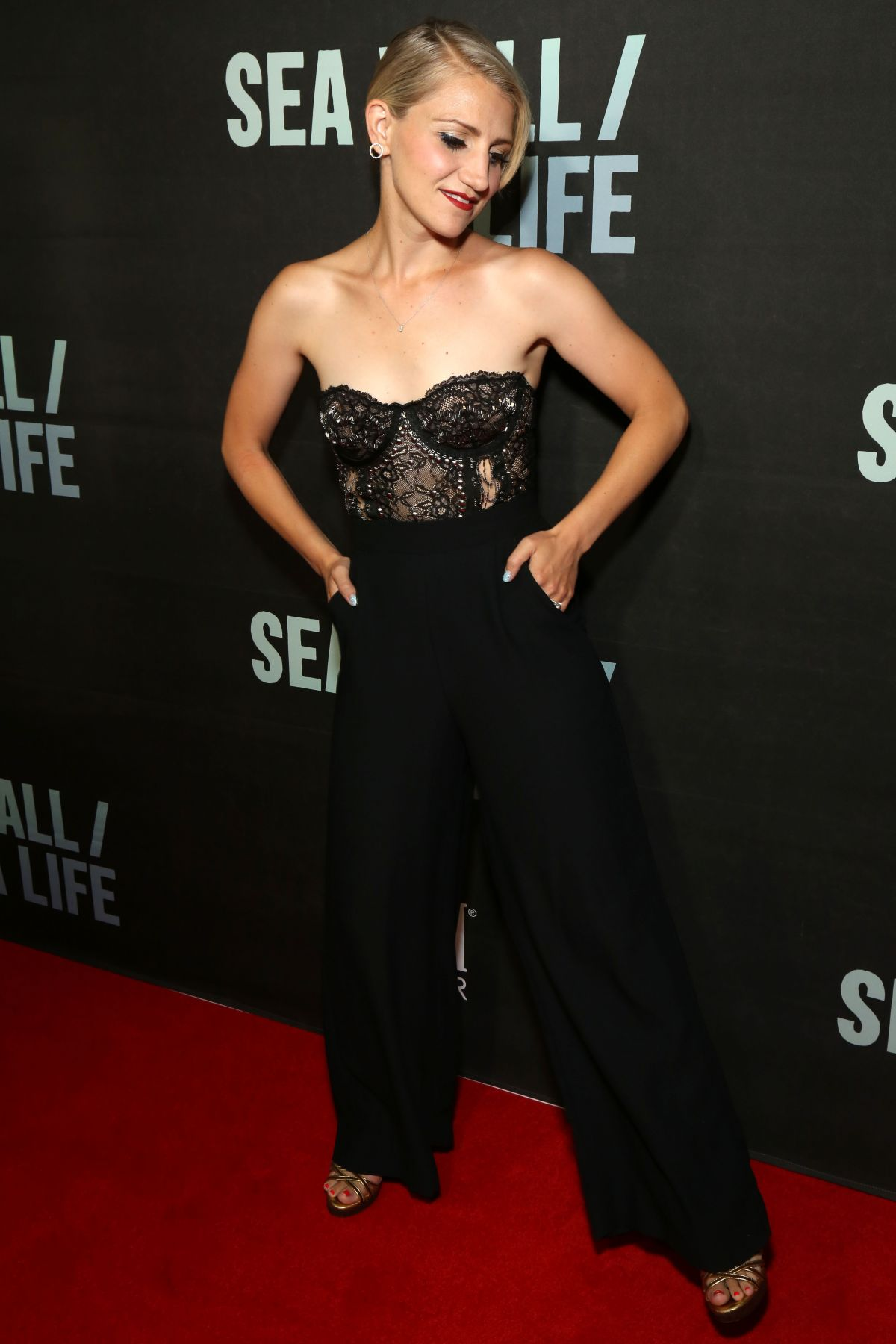 ANNALEIGH ASHFORD at Fiji Water at Sea Wall / A Life Opening Night on  Broadway in New York 08/08/2019 – HawtCelebs