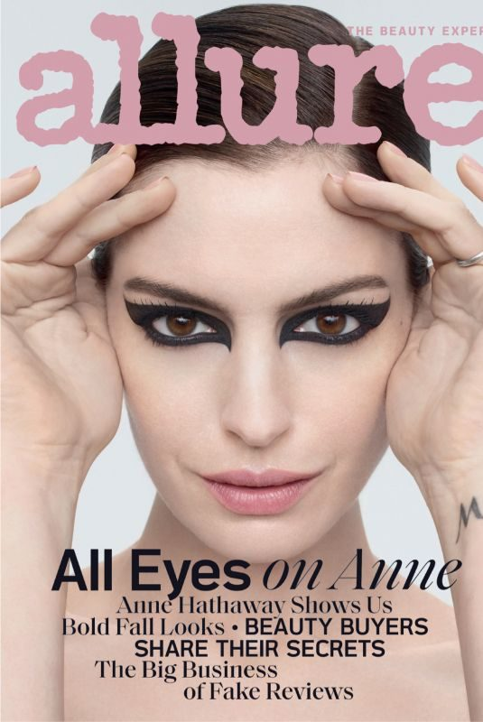 ANNE HATHAWAY in Allure Magazine, September 2019