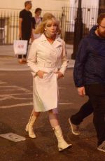 ANYA TAYLOR-JOY on the Set of Last Night in Soho in London 08/15/2019