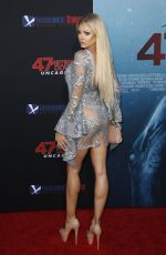 APRIL PUCK at 47 Meters Down: Uncaged Premiere in Los Angeles 08/13/2019