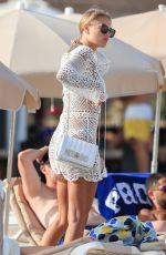 ARABELLA CHI in Bikini at a Beach in Ibiza 08/11/2019