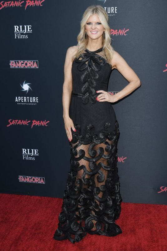 ARDEN MYRIN at Satanic Panic Premiere in Hollywood 08/23/2019